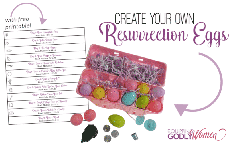 DIY Resurrection Eggs