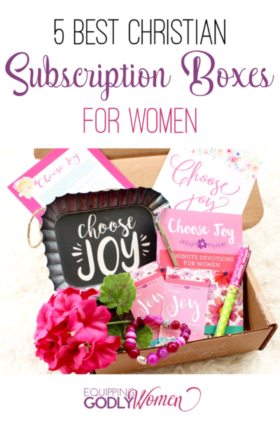 Looking for fun and affordable Christian subscription boxes for women? Here are 5 you're sure to love!