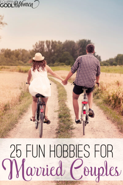 Looking for good hobbies for married couples? Here are 25 you're sure to love!