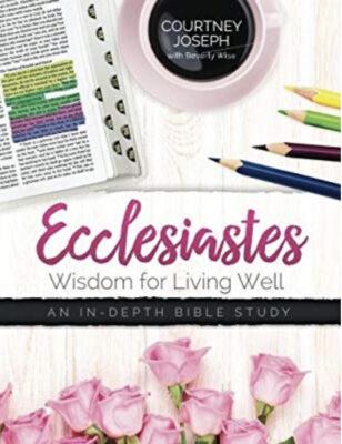 Ecclesiastes Bible Study Cover
