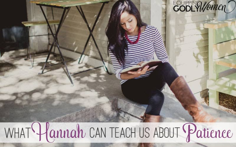 "Ever wonder, ""Who was Hannah in the Bible and what can she teach us today?"" Find out what Hannah can teach us about patience here."