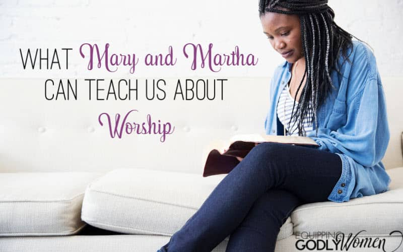 "Ever wonder, ""What is Mary and Martha's Bible story and what can they teach us today?"" Read what Mary and Martha's Bible story teaches us about worship here."