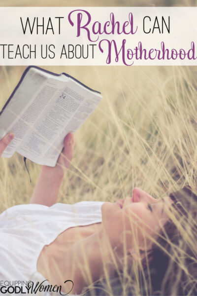 "Ever wonder, ""Who was Rachel in the Bible and what can we learn from her today?"" Find out what Rachel in the Bible can teach us about motherhood here!"