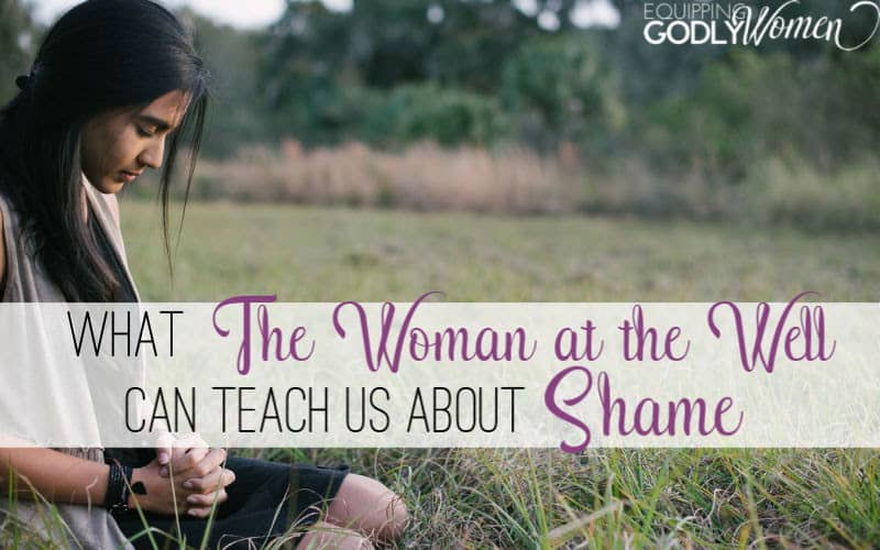 "Ever wonder, ""Who was the woman at the well and what can we learn from her today?"" Learn what the woman at the well can teach us about shame here."