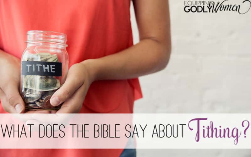 "Do you ever ask yourself, ""What is tithing in the Bible?"" or ""Why should we tithe?"" Find out what the Bible says about tithing here!"