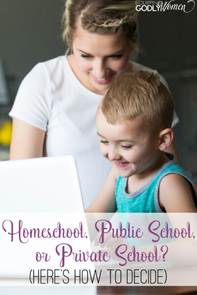 Homeschool vs public school? Private school vs public school? Which education option is right for your family? Here is everything you need to know!