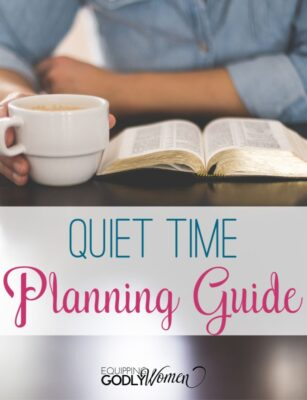 Quiet Time Planning Guide