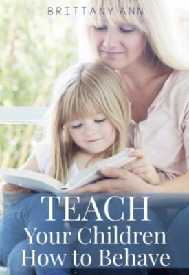 Teach your children how to behave book cover