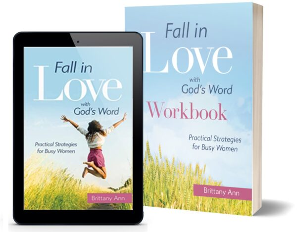 Fall in Love with God's Word Book Plus Workbook
