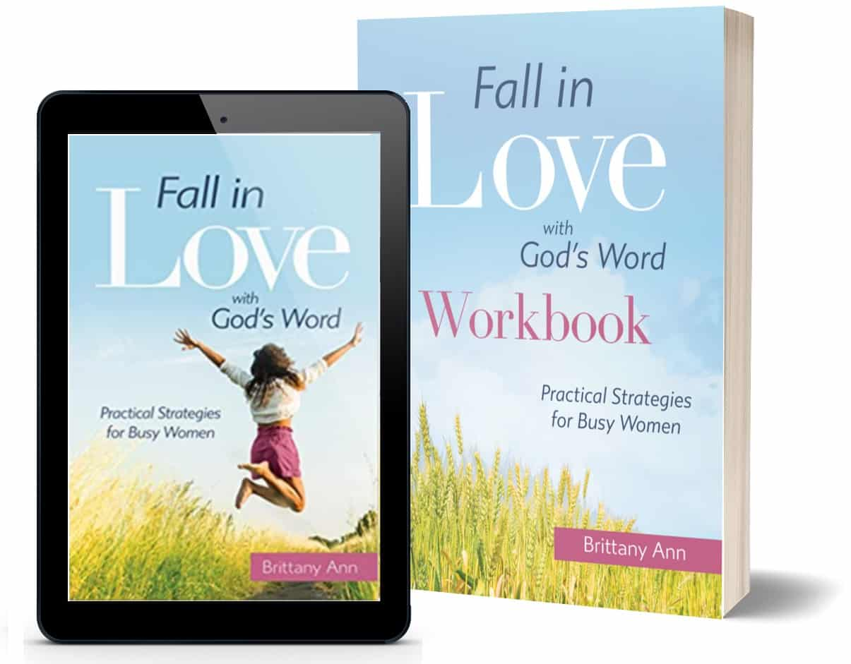 Fall in Love with God's Word book
