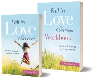 Fall in Love with God's Word Book and WorkbookBook set