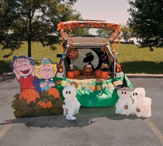 It's the Great Pumpkin Trunk-or-Treat Ideas