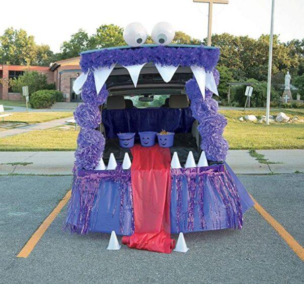 Friendly Monster Trunk-or-Treat Ideas