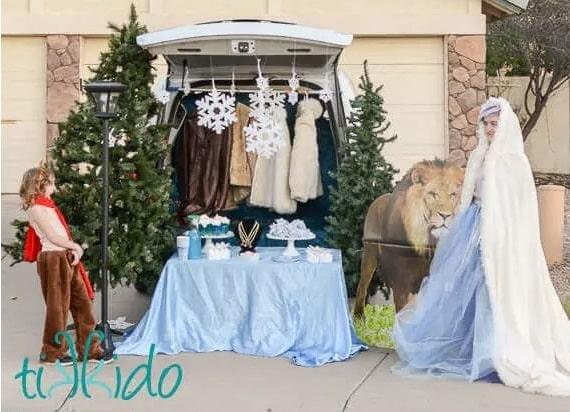 Narnia Trunk-or-Treat Ideas